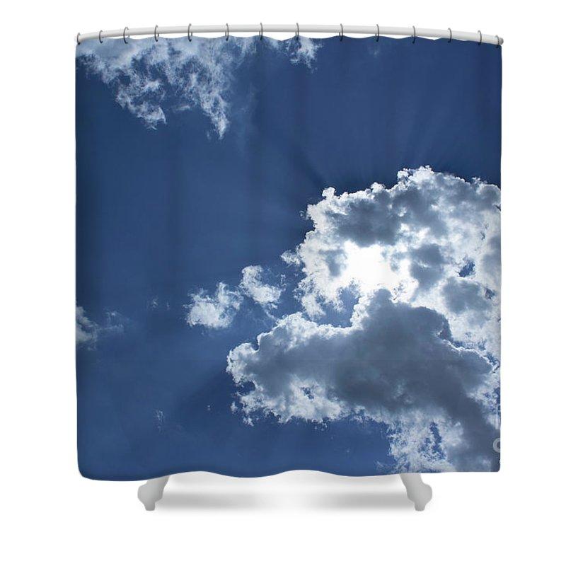 Cheerful Art Shower Curtain featuring the photograph Radiance by Megan Dirsa-DuBois