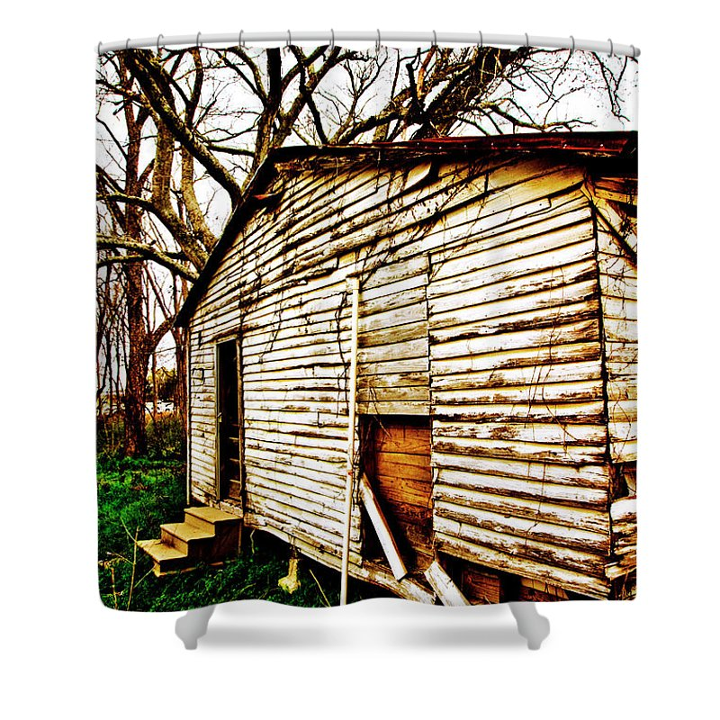 House Shower Curtain featuring the photograph Reminiscence by Scott Pellegrin