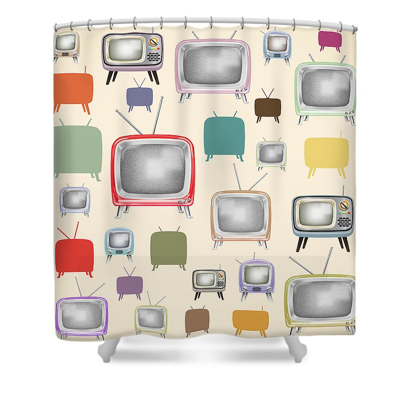 Button Shower Curtains