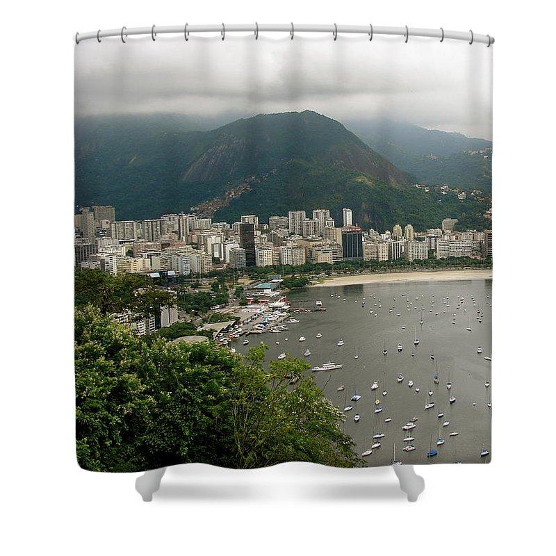 Rio De Janeiro Shower Curtain featuring the photograph Rio De Janeiro Vi by Brett Winn