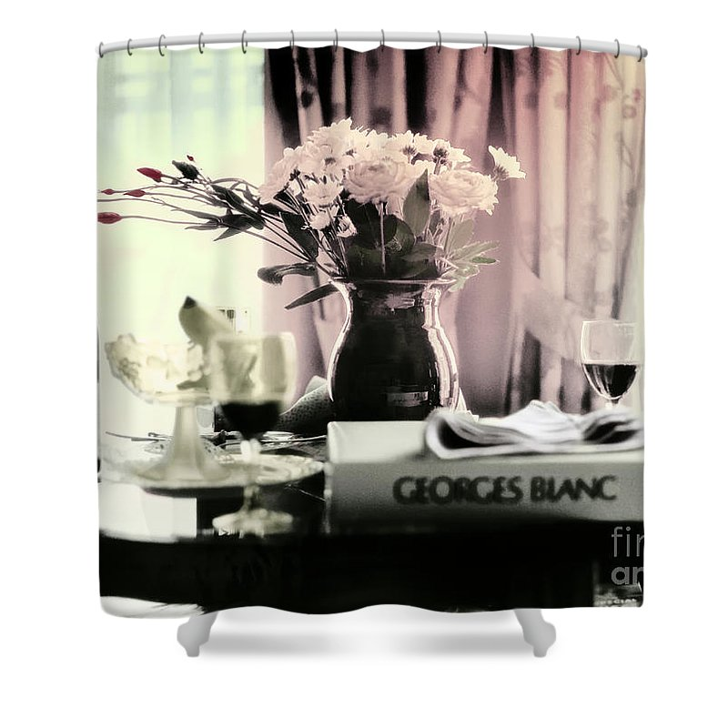 Romance Shower Curtain featuring the photograph Romance In The Afternoon by Madeline Ellis
