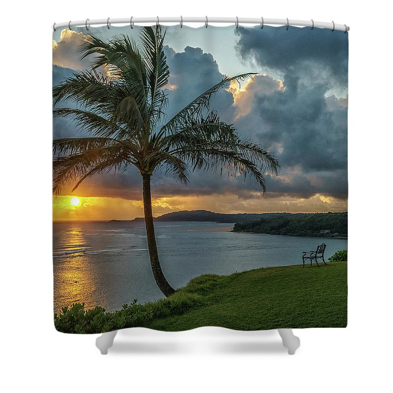 David Kulp Shower Curtain featuring the photograph Serenity by David Kulp