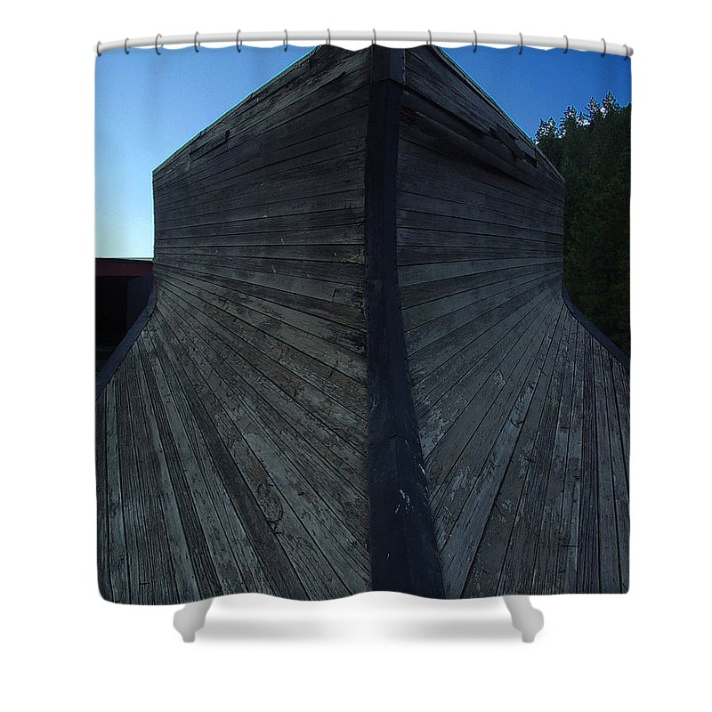 Train Shower Curtain featuring the photograph Snow Plow by Peter Piatt