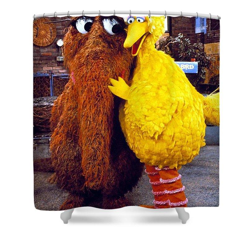 Snuffleupagus Shower Curtain For Sale By Sesame Street