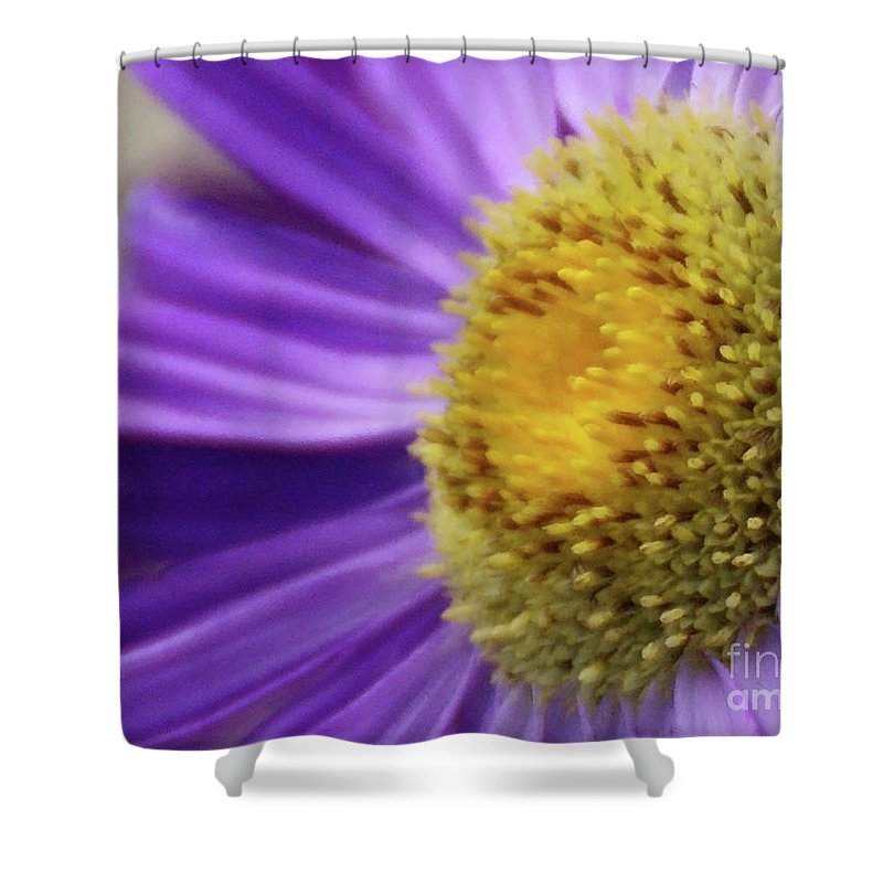 Flower Shower Curtain featuring the photograph Springtime by Linda Shafer