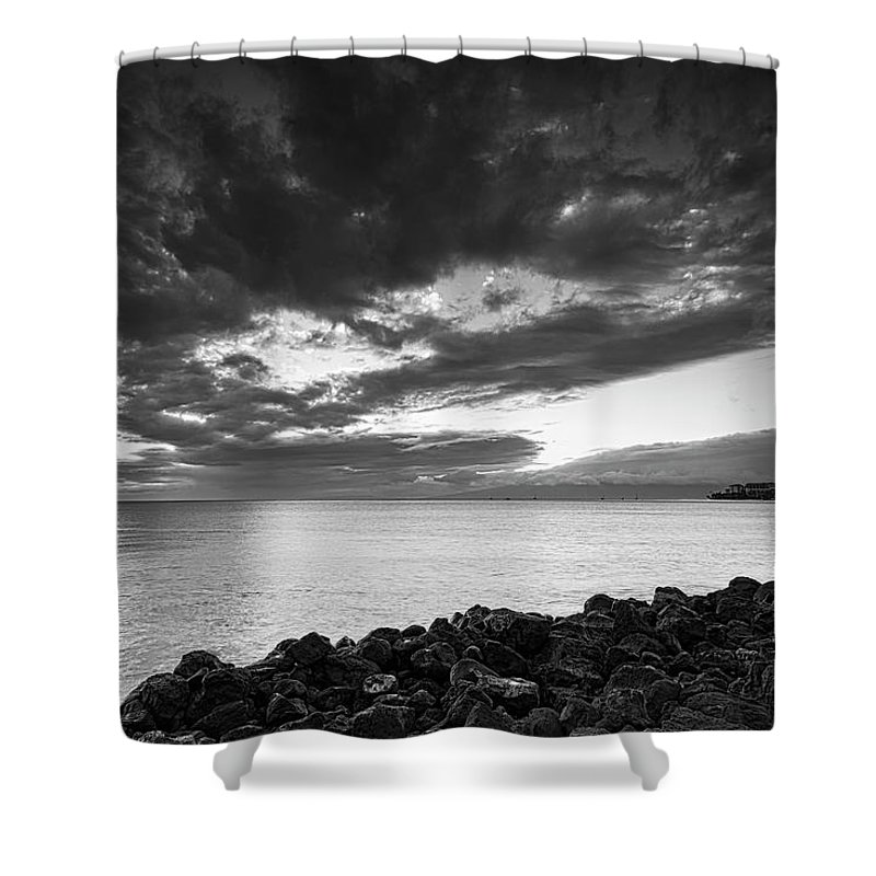 Hawaii Shower Curtain featuring the photograph Sunset by Jim Thompson