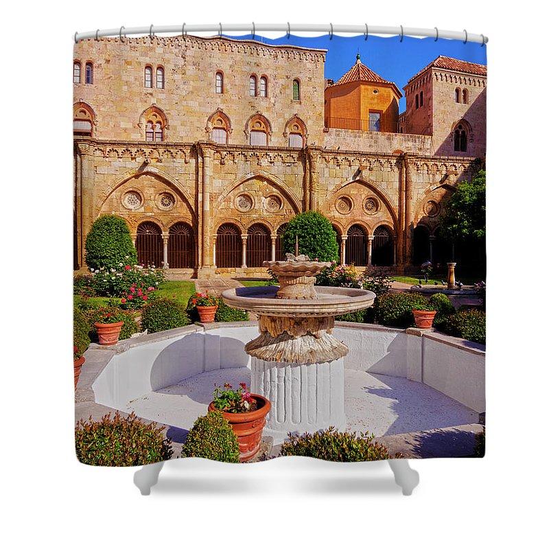 Spain Shower Curtain featuring the photograph Tarragona, Spain by Karol Kozlowski