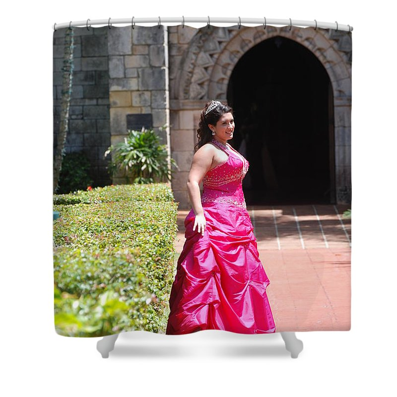 Girl Shower Curtain featuring the photograph The Princess by Rob Hans