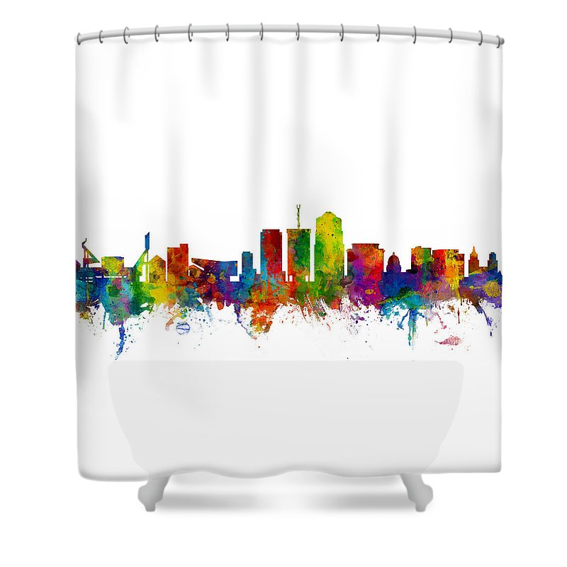 University Of Arizona Shower Curtains