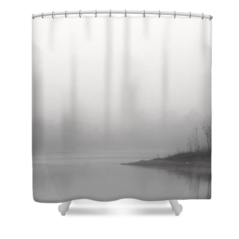 Tuesday Morning Shower Curtain Featuring The Photograph By Ed Smith