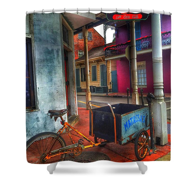 Music Shower Curtain featuring the photograph Tutti Frutti by Mark Pritchard
