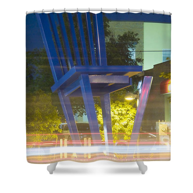 Unglued Shower Curtain featuring the photograph Unglued by Jeffery Ball