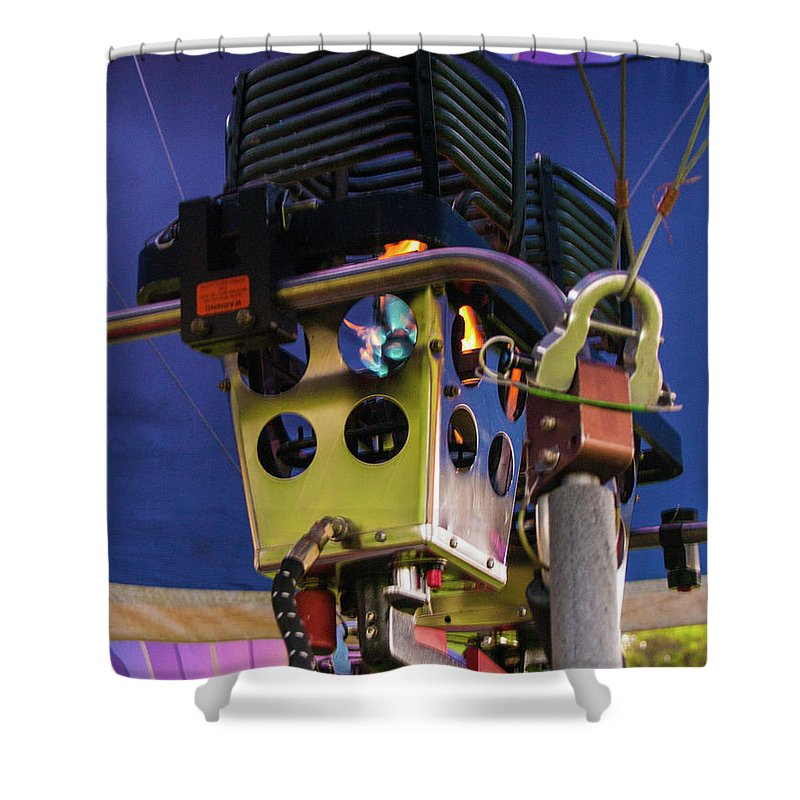 North East Ohio Shower Curtain featuring the photograph Up Close by Stewart Helberg