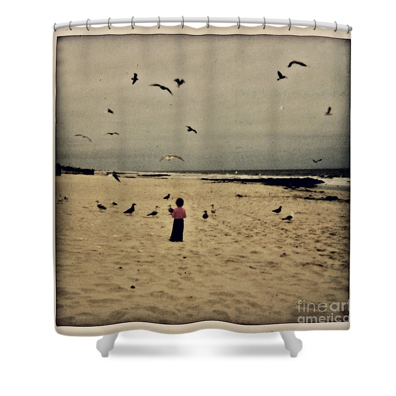 Ocean Shower Curtain featuring the photograph When Promises Were For Keeps by Dana DiPasquale