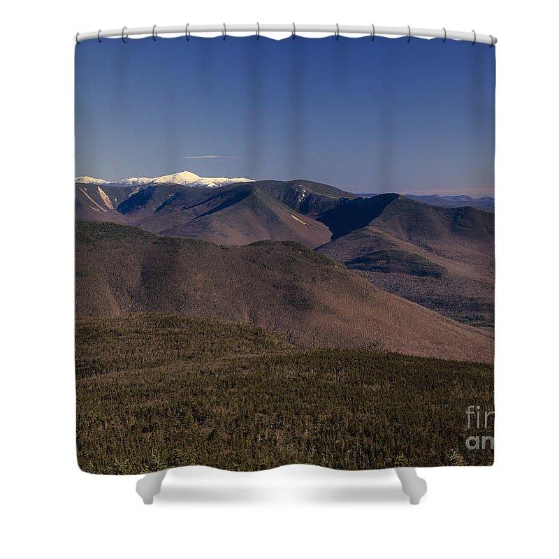 Appalachian Trail Shower Curtain featuring the photograph White Mountains Nh Usa by Erin Paul Donovan