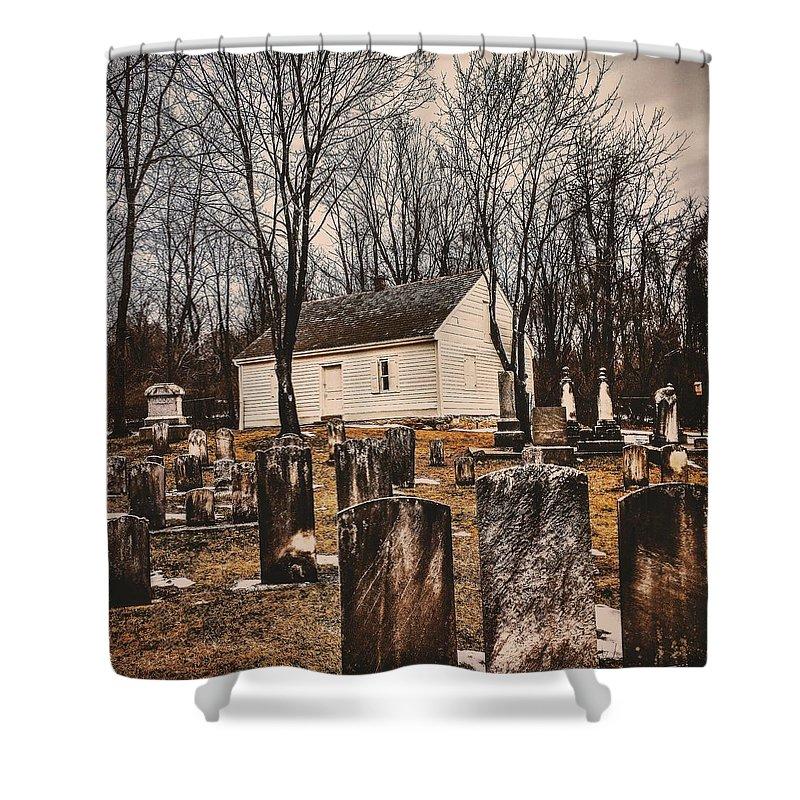Church Shower Curtain featuring the photograph Wildasin Meetinghouse by Paul Kercher