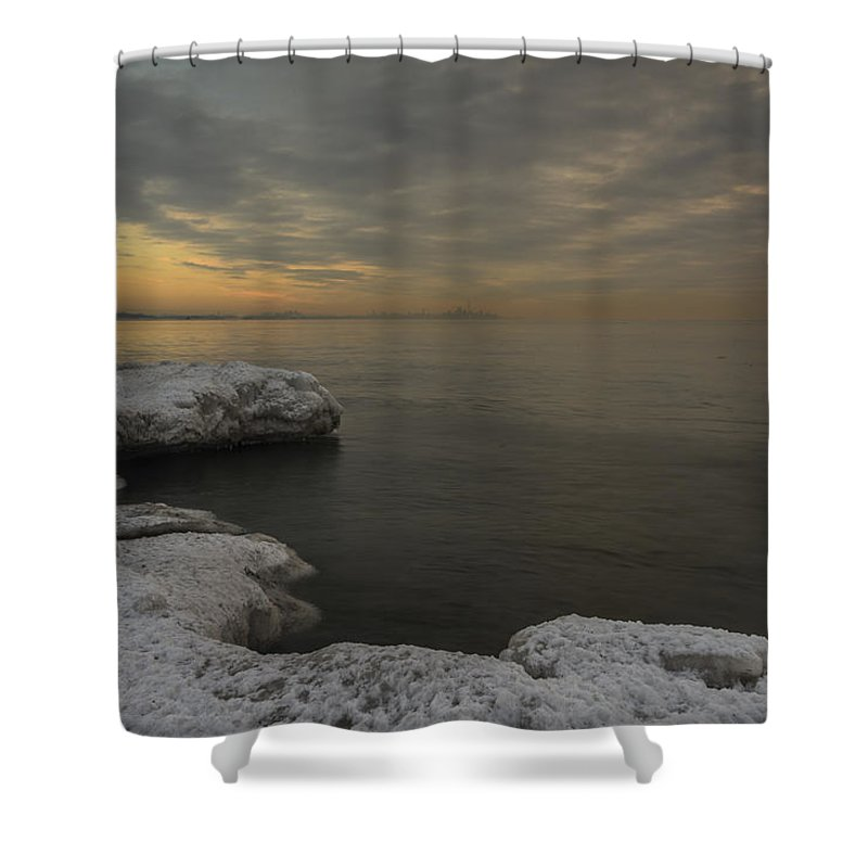 Canada Shower Curtain featuring the photograph Winter Morning by David Hook