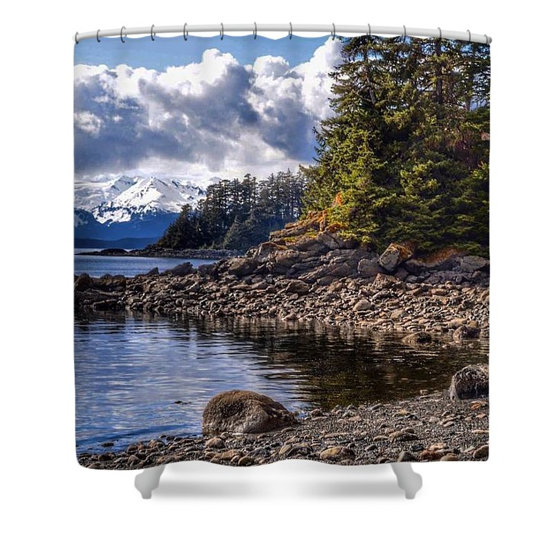 Landscape Shower Curtain featuring the photograph Yankee Cove by Michael Coleman
