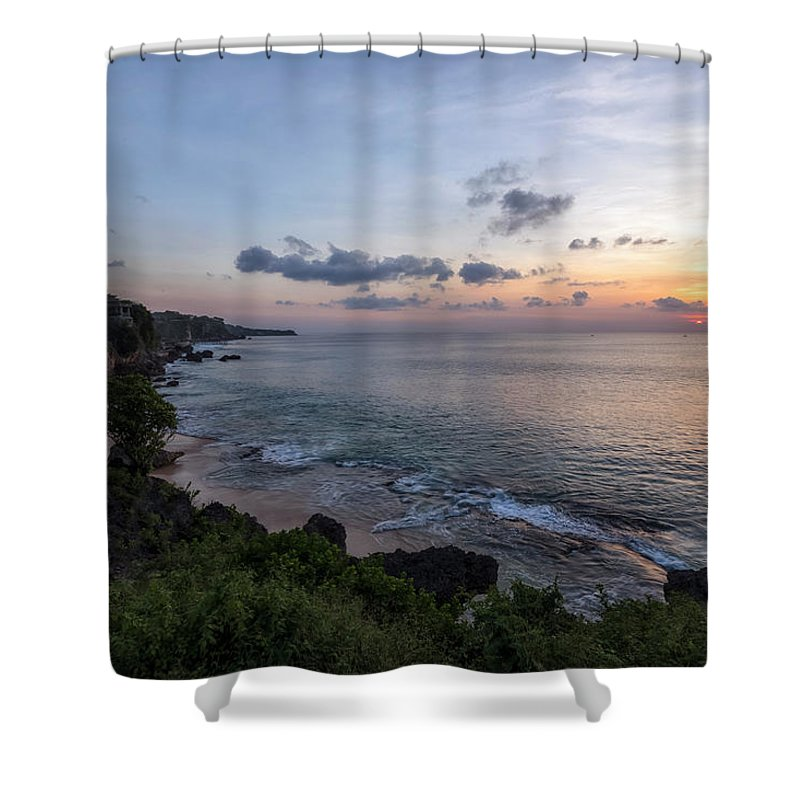 Tegal Wangi Beach Shower Curtain featuring the photograph Tegal Wangi - Bali by Joana Kruse