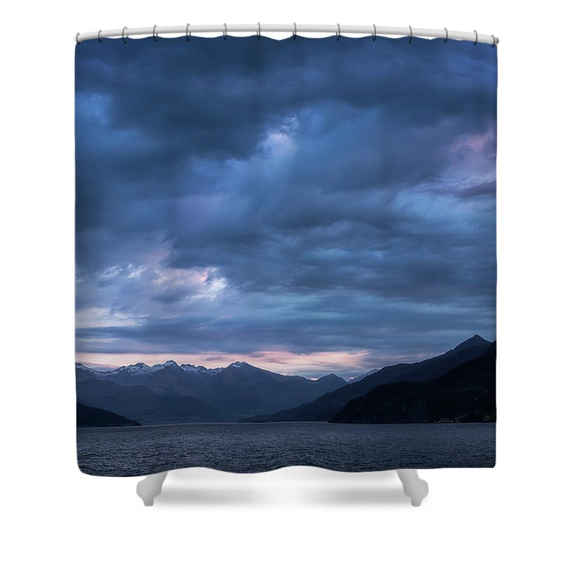 Bedroom Shower Curtain featuring the photograph Untitled by Jarrett Griffin