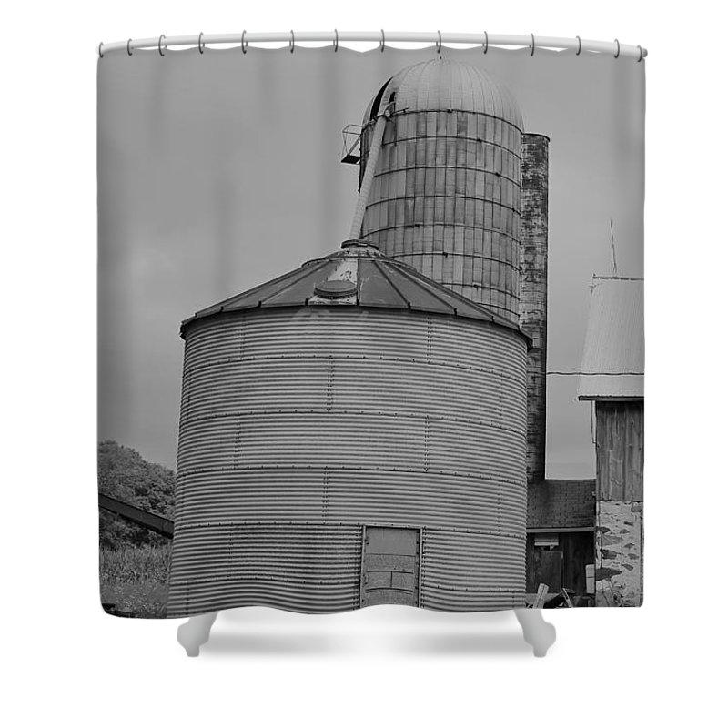 Shower Curtain featuring the photograph 111 by John Bichler