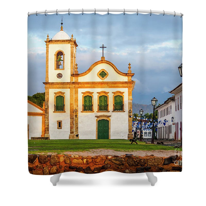 South America Shower Curtain featuring the photograph Paraty, Brazil by Karol Kozlowski