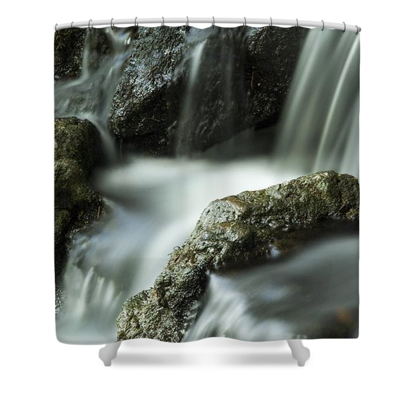 Water Shower Curtain featuring the photograph Waterfall by FL collection