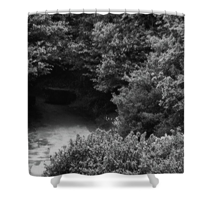 Non_city Shower Curtain featuring the photograph Countryside by Frances Lewis