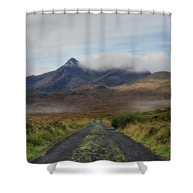 Sligachan Shower Curtain featuring the photograph Sligachan - Isle Of Skye by Joana Kruse