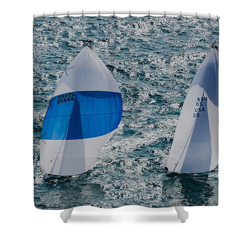 Water Shower Curtain featuring the photograph Watercolors by Steven Lapkin