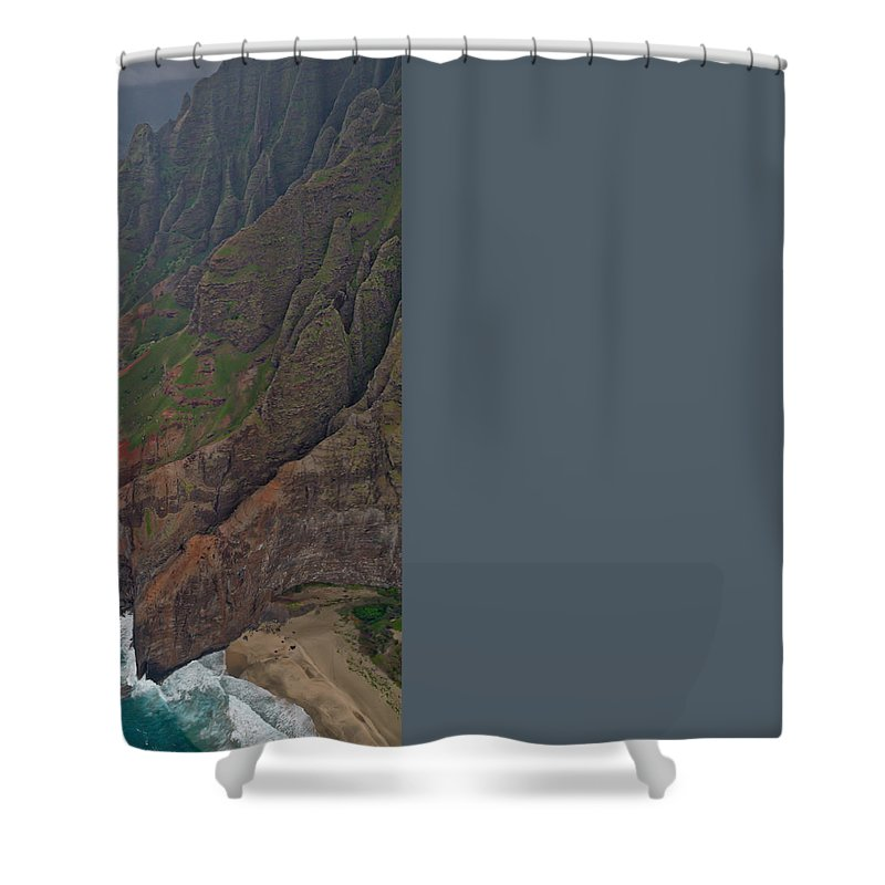 Water Shower Curtain featuring the photograph Time Machine by Steven Lapkin