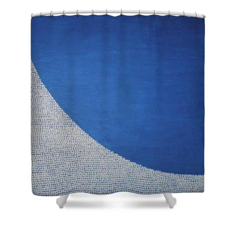 Inspirational Shower Curtain featuring the painting Perfect Existence by Kyung Hee Hogg
