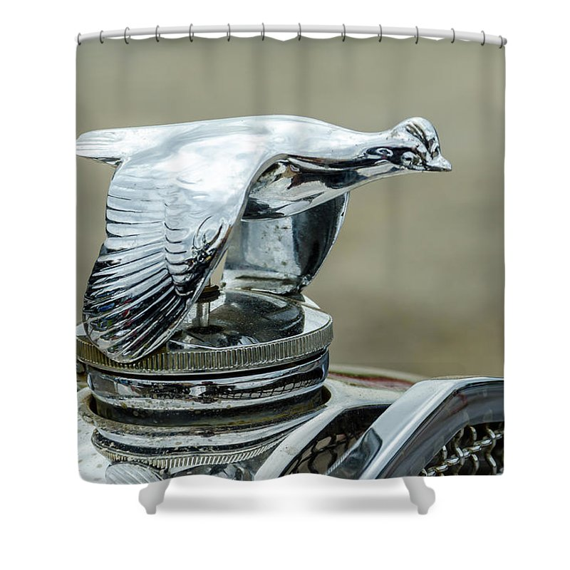 Gaetano Chieffo Shower Curtain featuring the photograph 1931 Ford Model A Roadmaster by Gaetano Chieffo