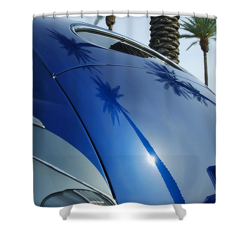 Car Shower Curtain featuring the photograph 1946 Steel Body Gm by Jill Reger