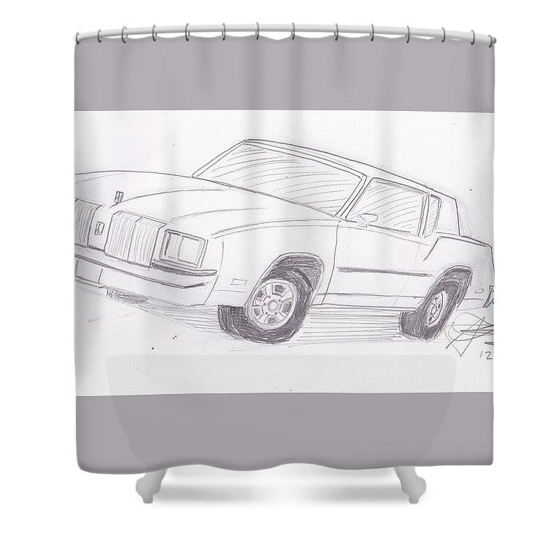 1979 Oldsmobile Cutlass Supreme Shower Curtain