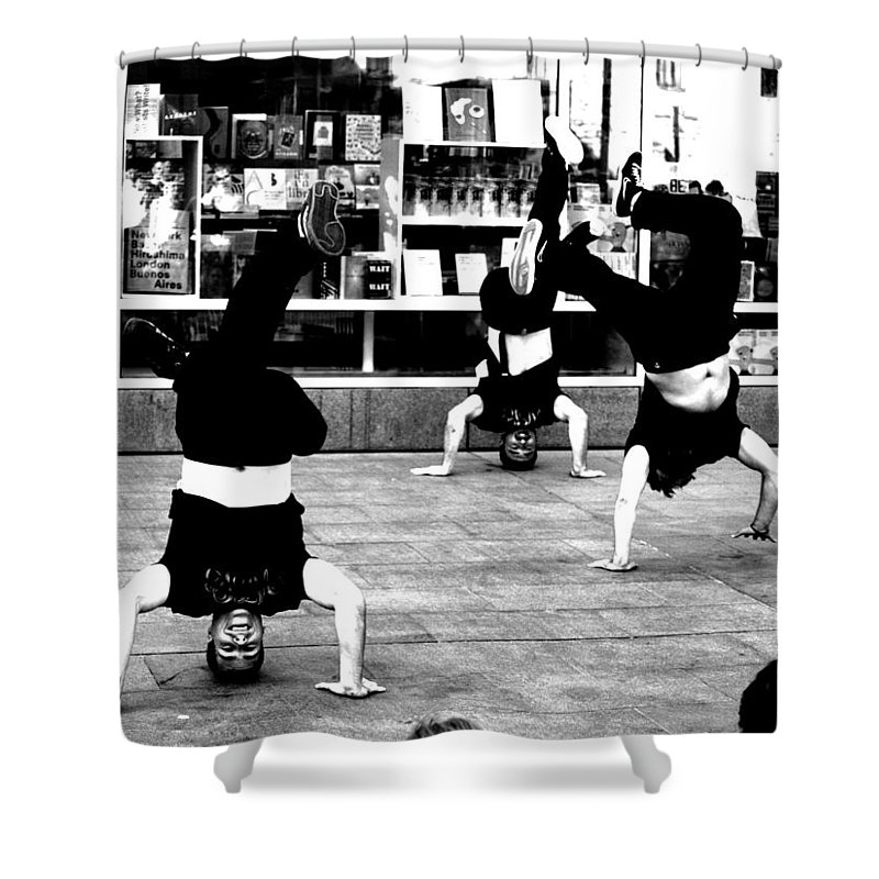 Dance Shower Curtain featuring the photograph 6 by Roger Muntes
