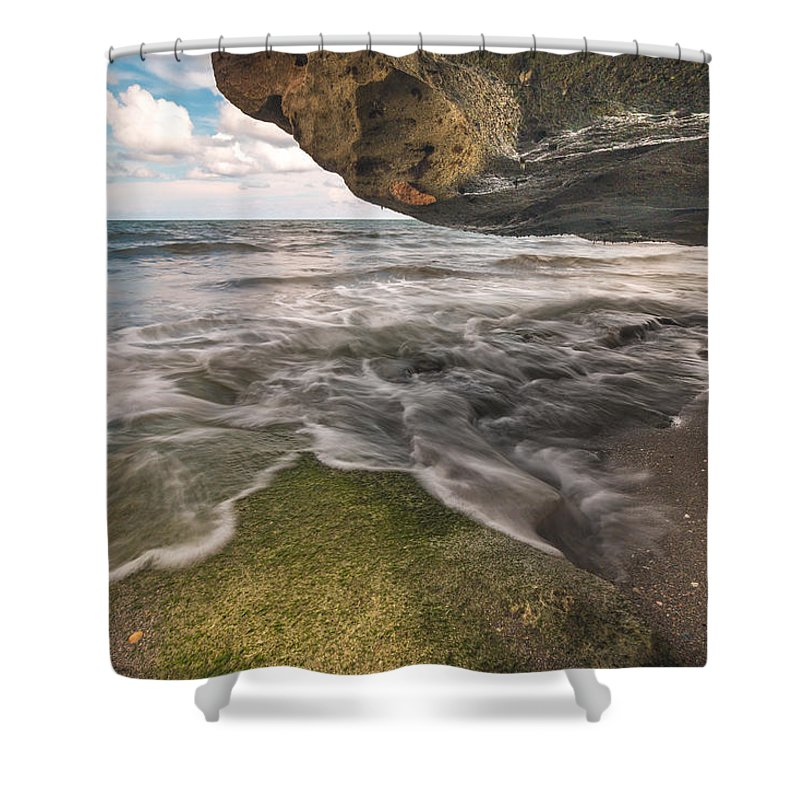 Coral Shower Curtain featuring the photograph Coral Cove by Joshua Powell