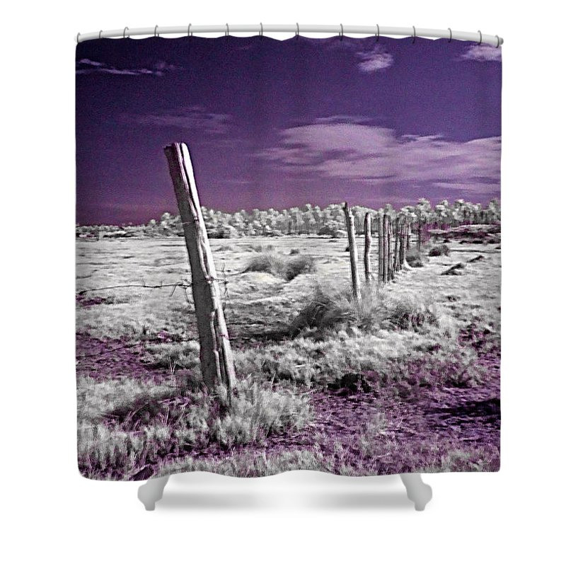 Desert Shower Curtain featuring the photograph Desertic Landscape by Galeria Trompiz