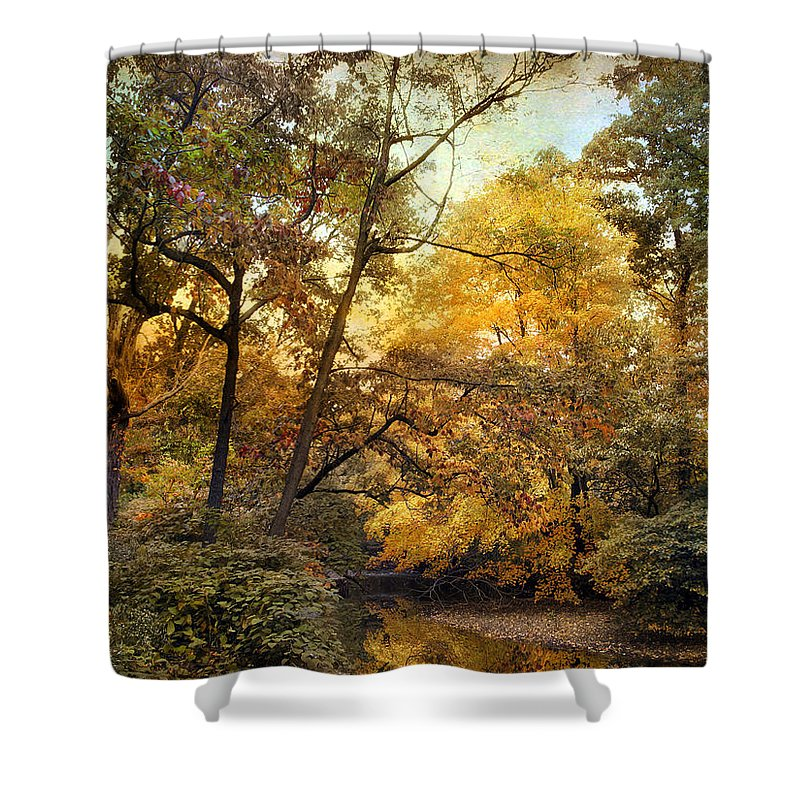 Nature Shower Curtain featuring the photograph Dusk by Jessica Jenney