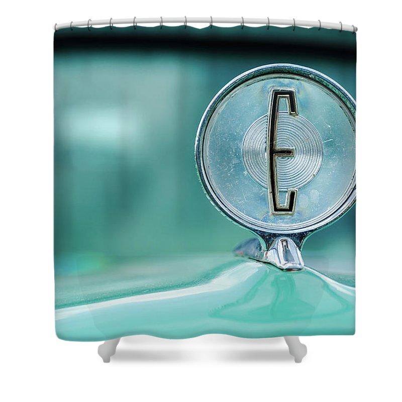 Gaetano Chieffo Shower Curtain featuring the photograph Edsel by Gaetano Chieffo