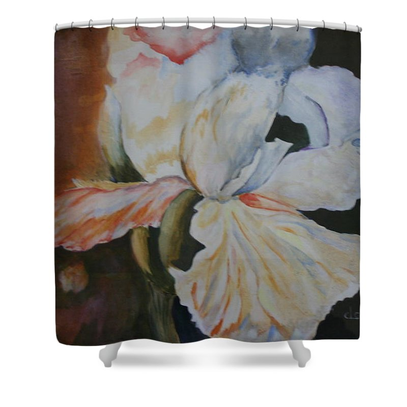 ... | Shop > Shower Curtains > Or Irisacrylic Paintings Shower Curtains