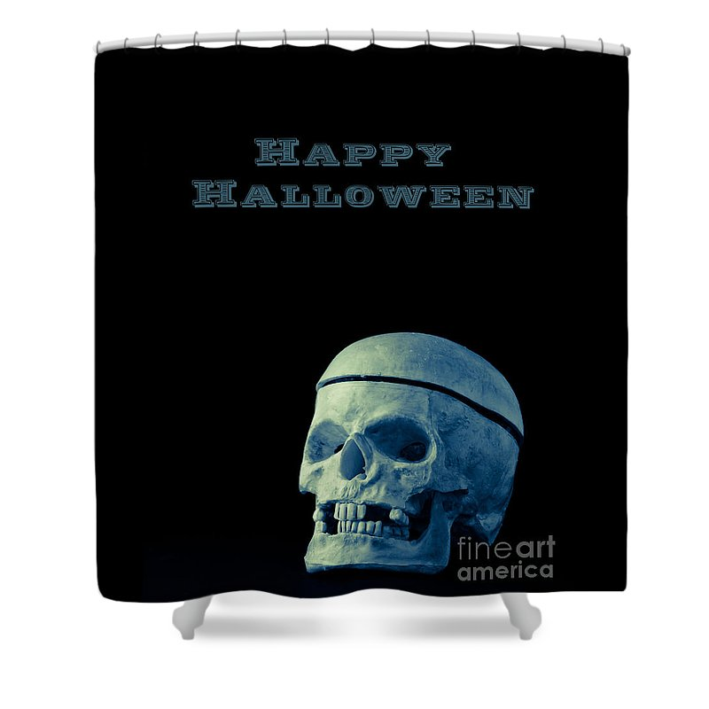 Halloween Shower Curtain featuring the photograph Happy Halloween by Edward Fielding