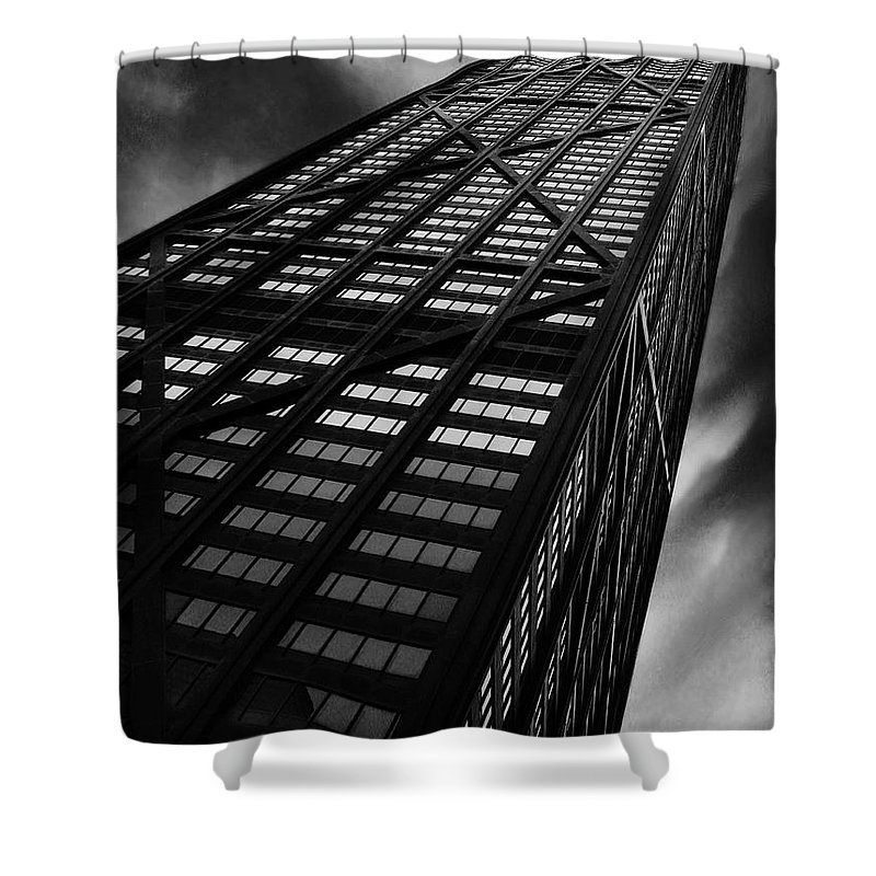 City Shower Curtain featuring the photograph Limitless by Dana DiPasquale