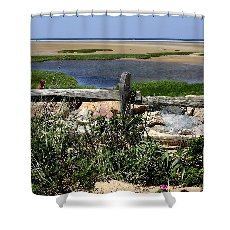 Water Shower Curtain featuring the photograph Paines Creek by Donna Walsh