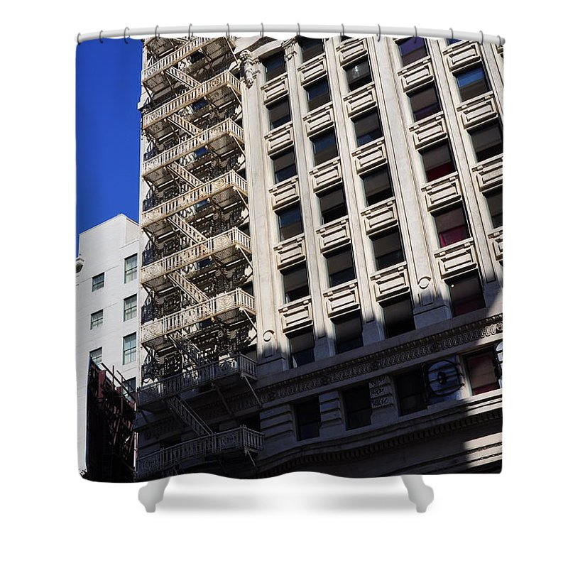 Clay Shower Curtain featuring the photograph Street Photography by Clayton Bruster