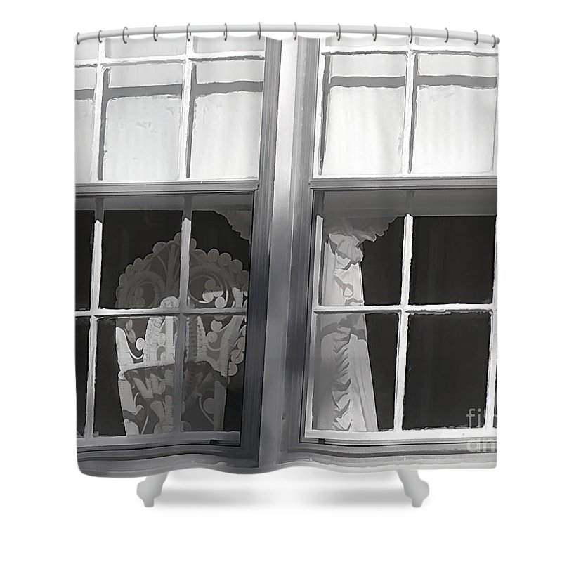 Window Shower Curtain featuring the photograph The Window by Paulette Thomas