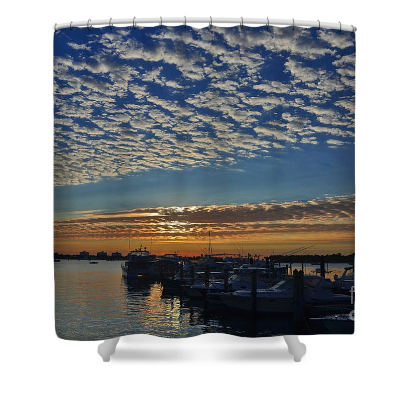 Sunrise Shower Curtain featuring the photograph 22- Magical Sunrise by Joseph Keane