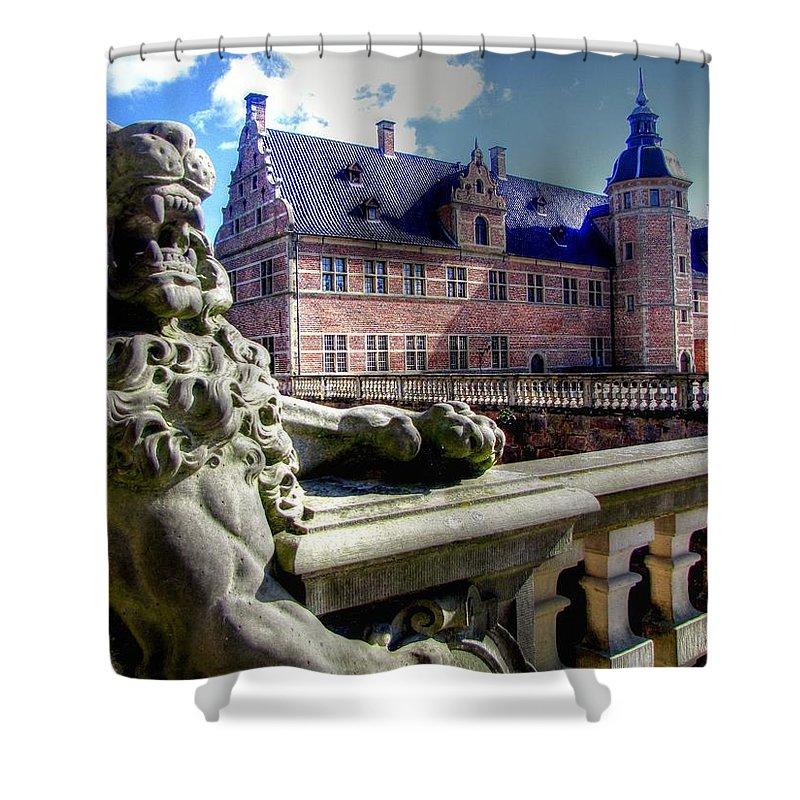 Zealand Denmark Shower Curtain featuring the photograph Zealand Denmark by Paul James Bannerman