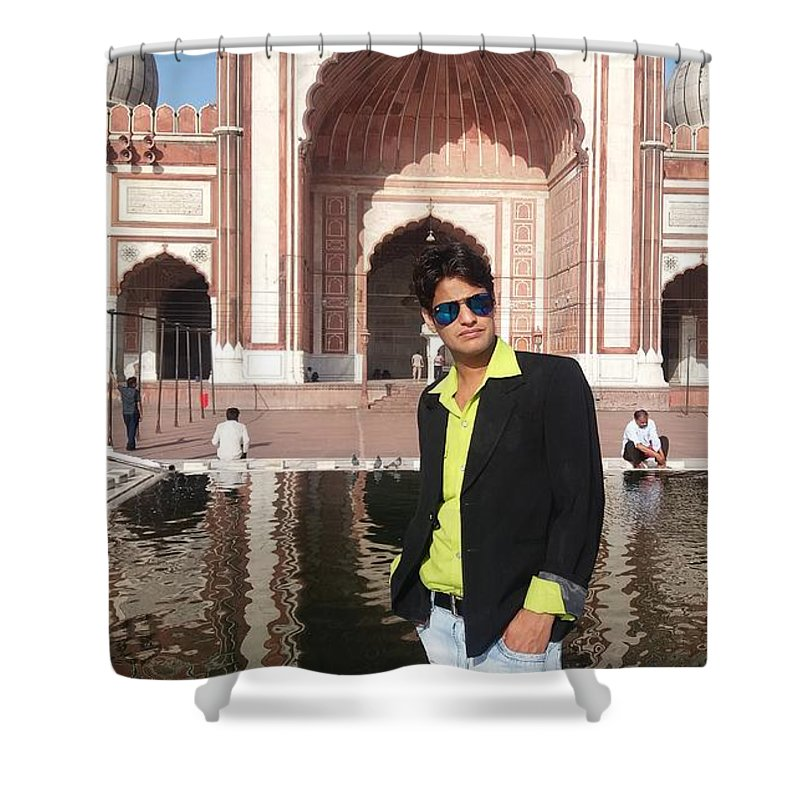 Harpal Singh Jadon Shower Curtain featuring the photograph Harpal Singh Jadon by Harpal Singh Jadon Jadon