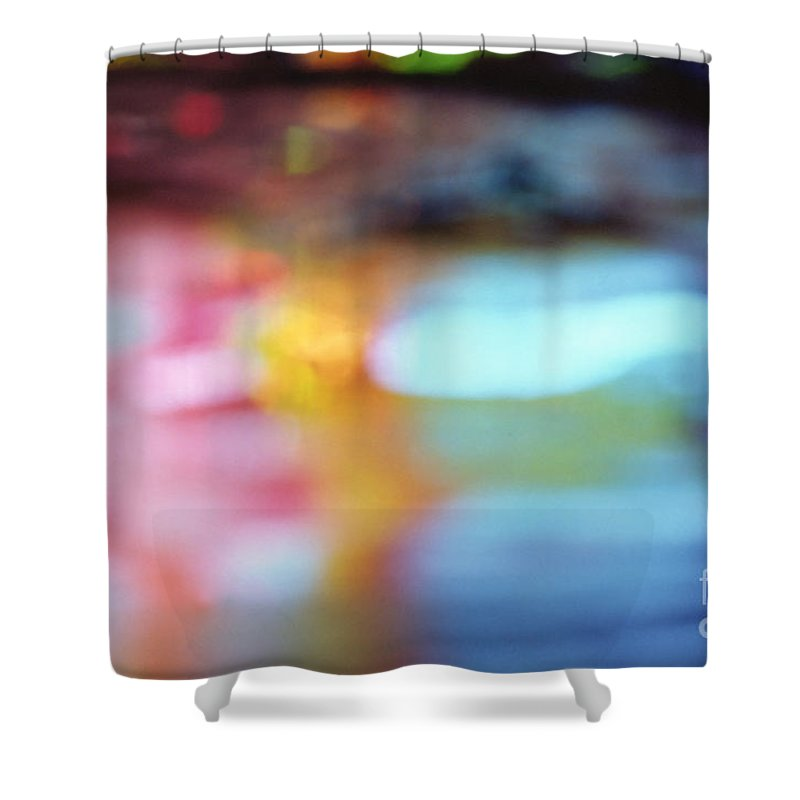 Abstract Shower Curtain featuring the photograph Abstract by Tony Cordoza